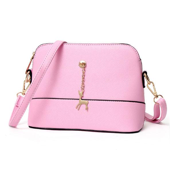Pink Handbag with Deer Charm – Me  N  Mum 660e37b1879e